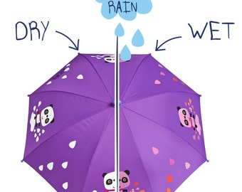 Color changing Panda Umbrella by SquidKids