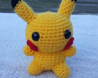 Handmade Pikachu Amigurumi