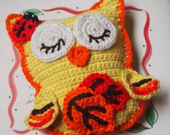 Crochet owl pattern, crochet pattern Autumn Owl, crochet owl amigurumi, crochet owl, crochet toy