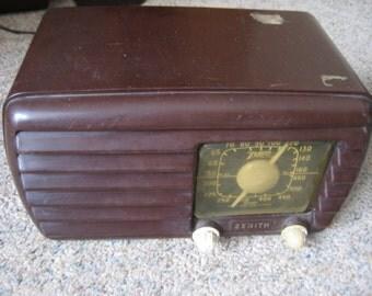 Zenith 5D611 radio