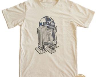 R2D2 Star Wars T-shirt 100% Organic Cotton