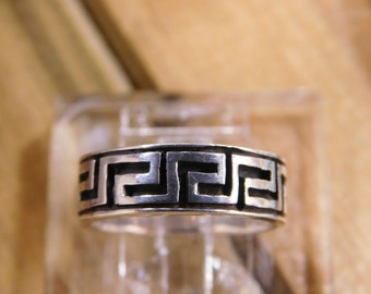 Aztec Sterling Silver Ring