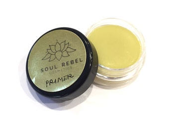 Vegan Lip Priming Balm -All Natural & Organic Ingredients