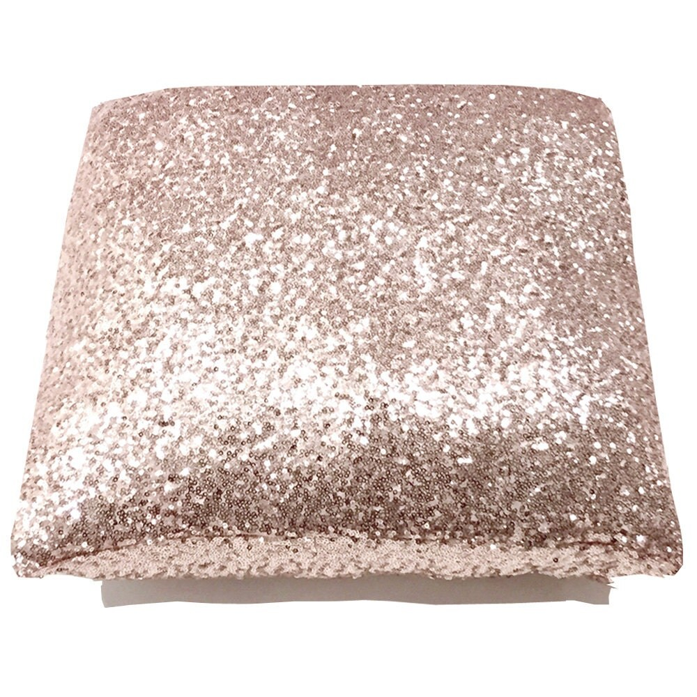 Decorative Pillows With Sequins : Blush Glitz Throw Pillows Blush Sequin Accent Pillows