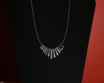Hematite beads necklace