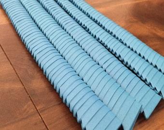 250 3D Origami Triangles (Blue)
