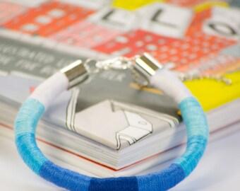 NEW/ Blue Braided Bracelet