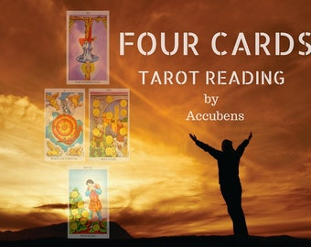 Four Cards Psychic Tarot Reading