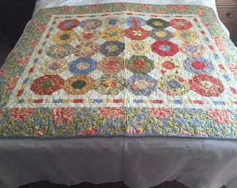 Patchwork Quilt - Moda Fabrics