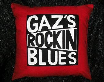 Gaz's Rockin Blues Cushion