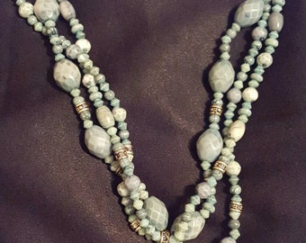 Turquoise Stoned ornate designed necklace