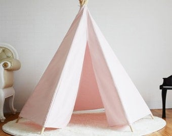 Kids Pink Teepee / Tipi Play Tent