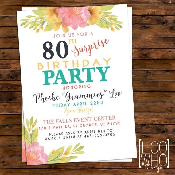 Suprise Party Invitations for amazing invitations ideas