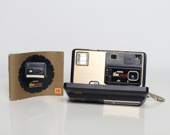 Kodak Disc 8000 Camera with original box and manual