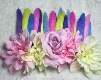 Spring - Floral headdress