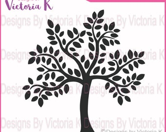 2 Family Tree,Iron On,Cutting Machine,(not for paper see other file)SVG, PNG, EPS Files,Wedding, Family,Cricut Design Space, Vinyl cut Files
