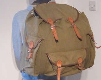 Vintage hikers rucksack, cool and in good condition.