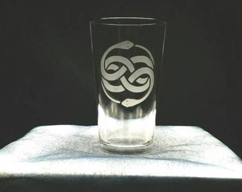 NeverEnding Story Pint Glass