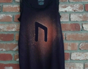 Uruz Rune/Tank/Women M/Bleach/Summer/Spring/Fall/Asatru/Pagan