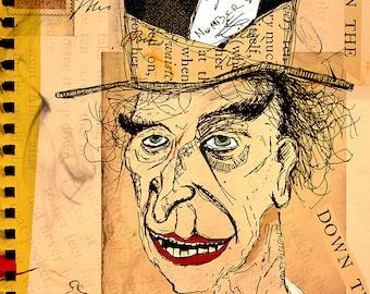 "Mad Hatter Print (15"" x 20"")"