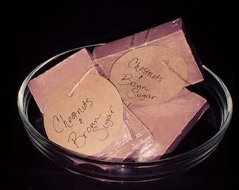 Chestnuts & Brown Sugar soap bar