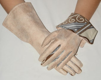 Musketeer Gloves. Original Unique Gloves. 100 % original made by Hand. SWAN Accessories