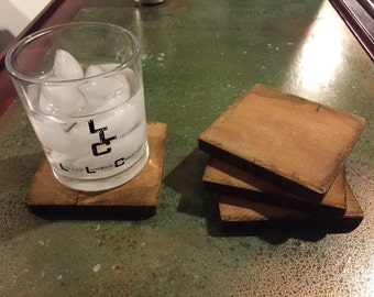 Reclaimed Wood Coasters (set of 4)