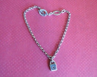 Vintage Links of London 925 Sterling Charm Bracelet