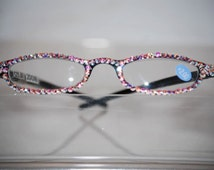 2.00 Swarovski Crystal Reading Glasses  (crystal AB) FREE SHIPPING
