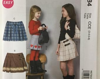 McCall's Girls Sewing Pattern