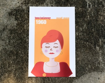 Mad Men Joan Holloway Print