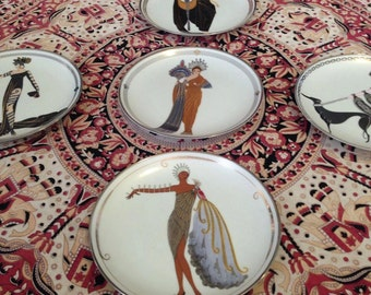Rare Franklin Mint Collectors Plates. Set of 5 ONE MISSING