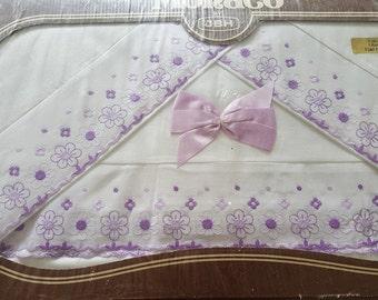 Beautiful Vintage Double Bed Sheet Set