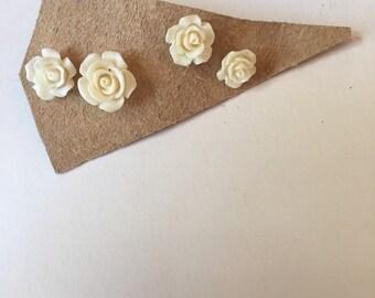 Little lovely flower earrings