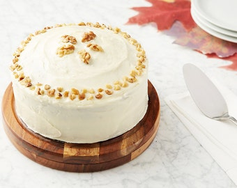 Gourmet Baking Kit: Carrot Cake with cream cheese frosting and walnuts