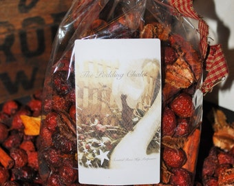 Scented CinnaBuns Rose Hips Country Potpourri. Same day Handling.