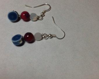 Polished earrings