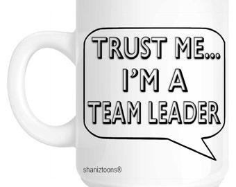 Team Leader Novelty Gift Mug SHAN676
