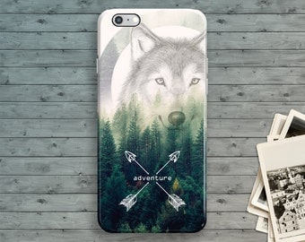 iPhone 6 Case, Hipster Arrows iPhone 7 Case, Wolf iPhone 6S case, Vintage iPhone 7 Plus, Mountain iPhone 6S Plus, iPhone SE Case 5 5S 5C