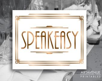 Speakeasy Etsy