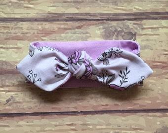 Headband * lilac flowers *.