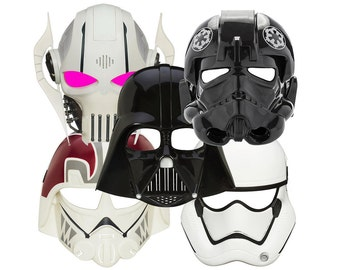 10 Star Wars Masks Printable PDF