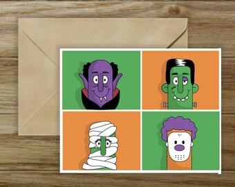 Children's Halloween Card