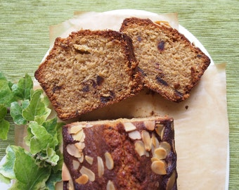 Date and Almond Loaf Cake