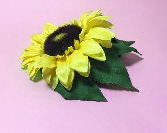 Sunflower Fascinator