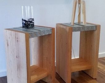Industrial Influenced Occasional Tables | Side Tables