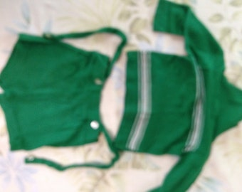 Toddler Active wear short pants and Top;  Sternberg Creative Knits children's outfit