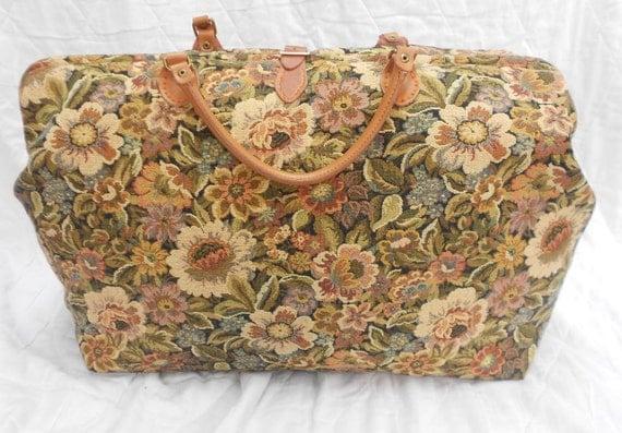 Große Reisetasche Mary Poppins Teppich Tasche Teppich und