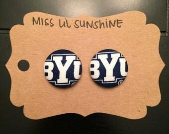 BYU Inspired Earrings