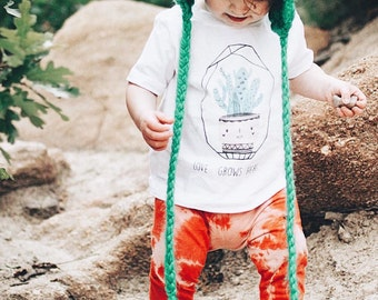 Love Grows Here/ Cactus/ Cacti/ Baby/ Toddler Tee